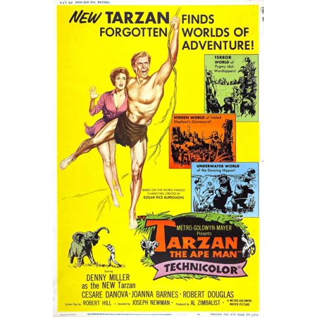 Tarzan The Ape Man Poster Movie F Mini Promo