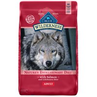 Blue Buffalo Wilderness High Protein Grain Free, Natural Adult Dry Dog Food, Salmon Recipe