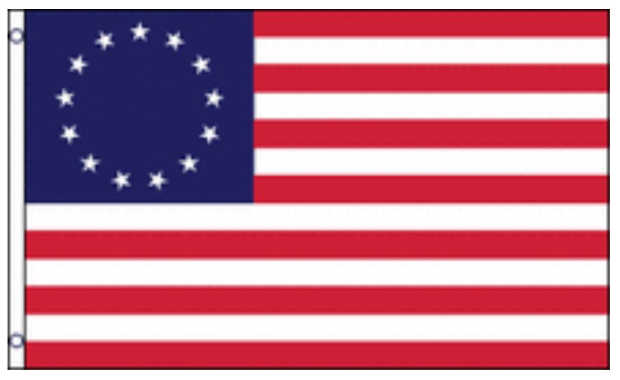 12x18 Betsy Ross Flag 12 x 18 inch USA Boat Flag United States Historical by Home and Holiday Flags