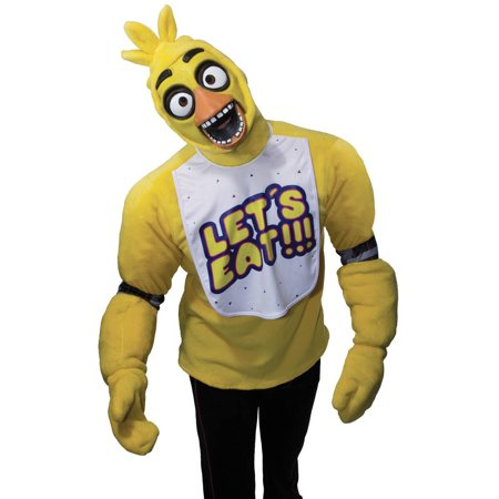 Five Nights at Freddys: Chica Teen Costume S](Chica Costume)