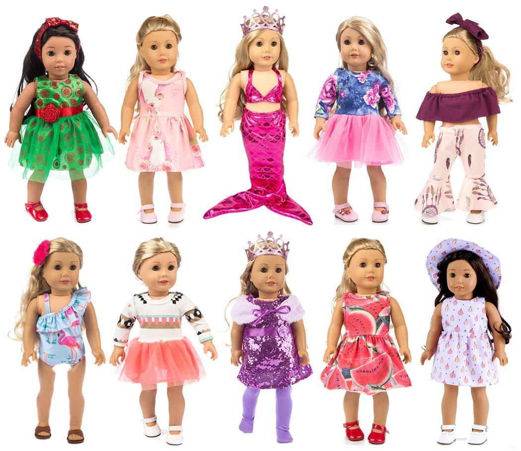 2Pcs 43cm Doll Or 18 Inch  Doll Clothes Underpants BH