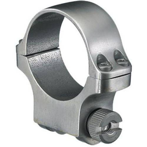 Ruger 90285 Clam Pack Single Ring, Medium, 30mm Diameter, Stainless