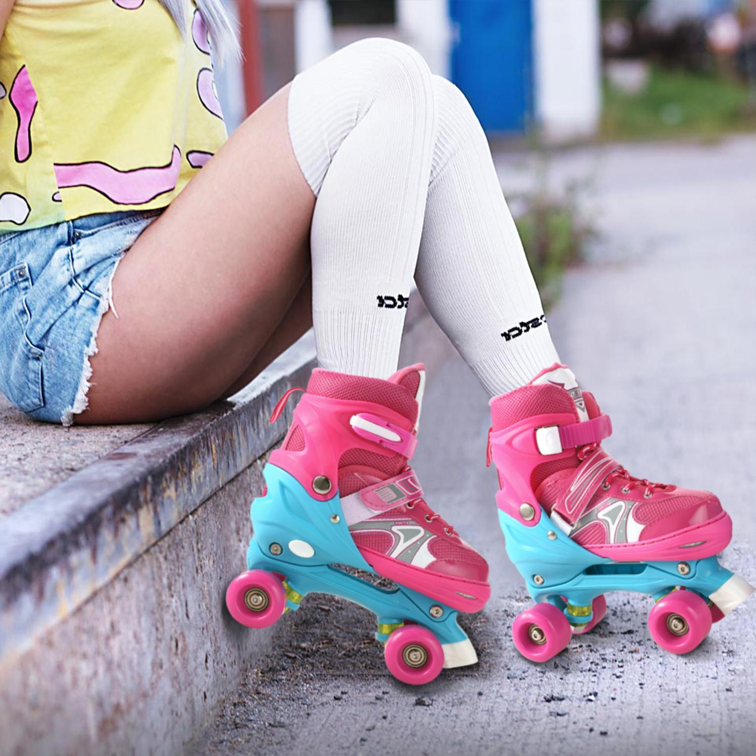 Unisex Fancy Double-row Roller Skating Shoes Straight Adult Inline Skates Professional Skates Shoes
