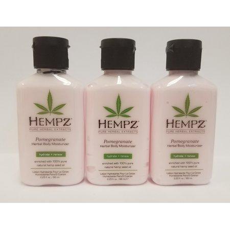 Pack of 3 - HEMPZ 2.25 fl. oz Lotion - Pomegranate