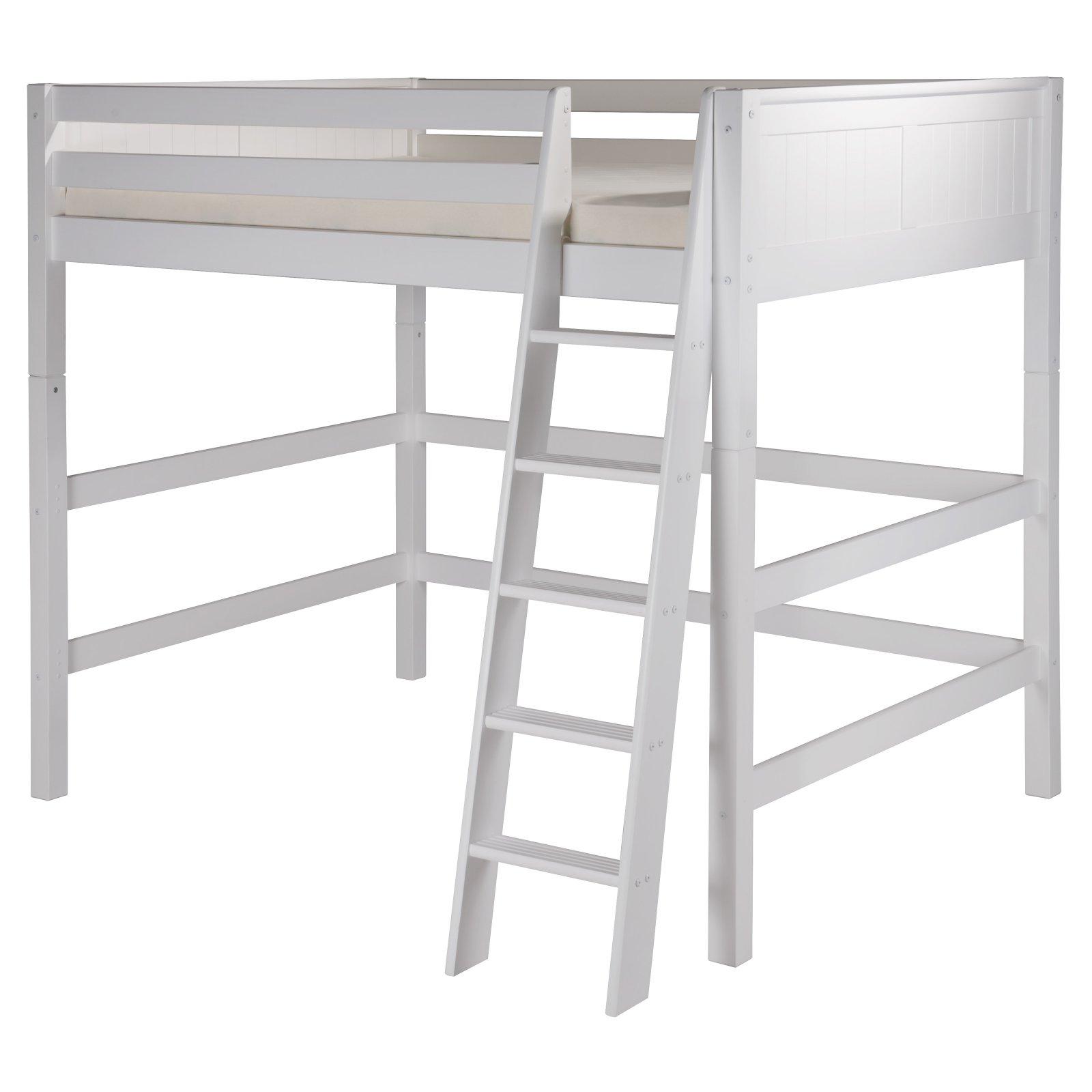 Camaflexi Panel Headboard High Loft Bed