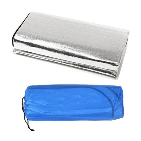 Double Sided Foldable Waterproof Aluminum Foil Mat Outdoor Travel Beach Mat - image 1 of 8