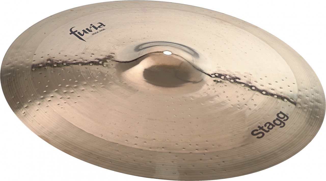 "Stagg F-RR21B Furia Series 21"" Brilliant Rock Ride Cymbal by Overstock"