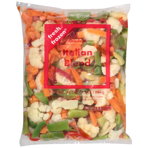 Fresh Frozen Italian Blend Vegetables, 24 oz