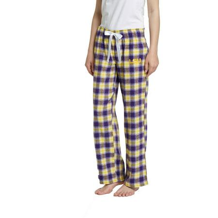 NCAA LSU Tigers Tenacity Ladies' Flannel Pant