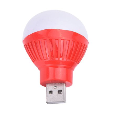 80LM USB LED Book reading light night light bulb