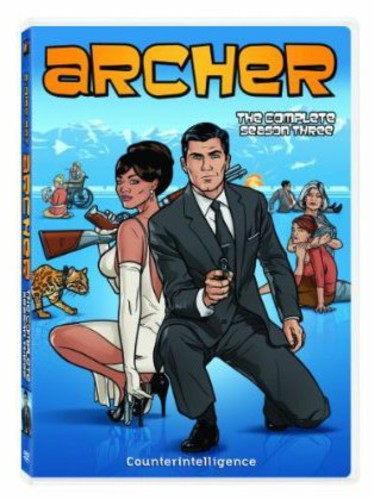 Archer: The Complete Season Three (DVD) by 20th Century Fox