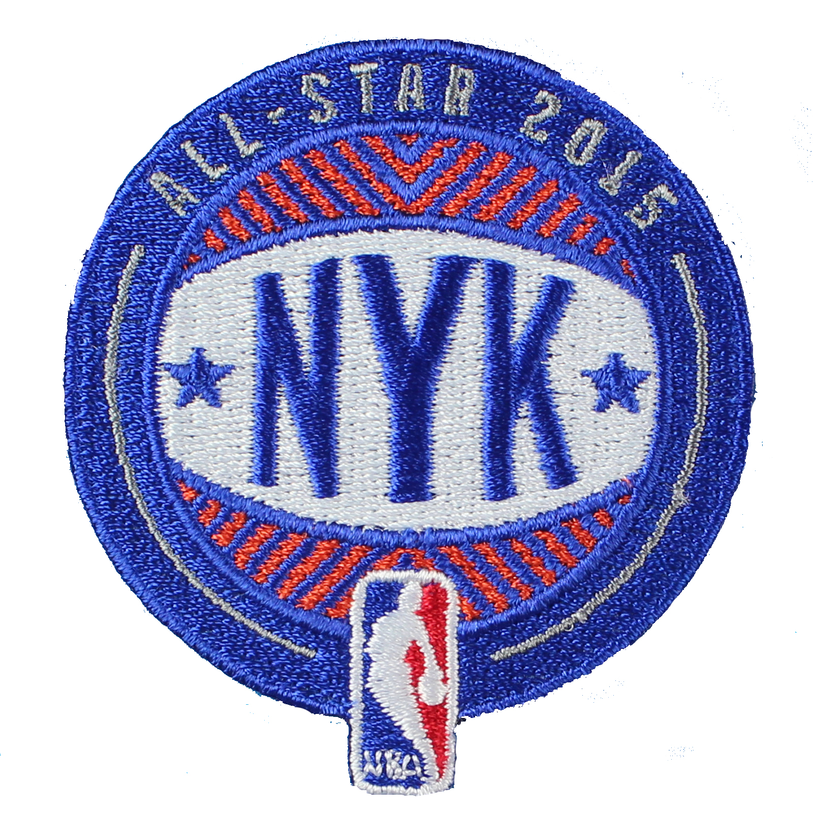 2015 NBA All Star Game Patch in New York City Knicks Jersey Patch (Madison Square Garden)