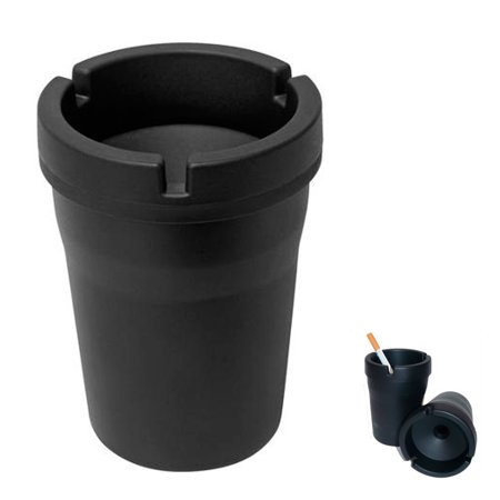 1 Jumbo Butt Bucket Smokeless Ashtray Travel Auto Cigarette Odor Extinguishing ! ()