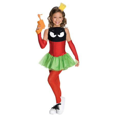 Marvin The Martian Girls - Marvin The Martian Halloween Costume
