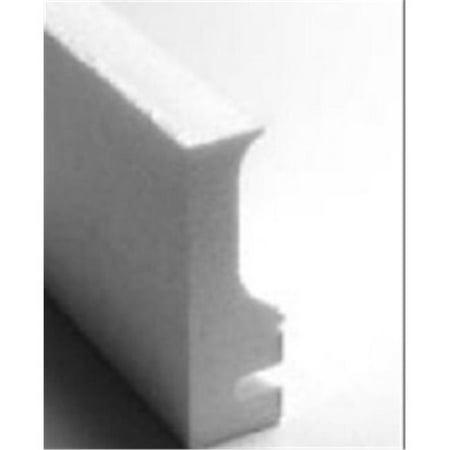 Tile Reducer Strips - Stegmeier 1CF111 8 ft. Regular Form No Tile Strip with Wire