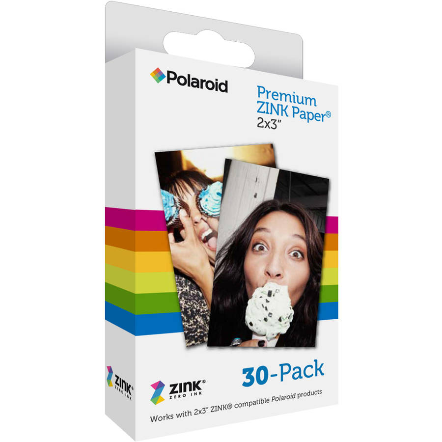 Polaroid 30-Pack ZINK Paper