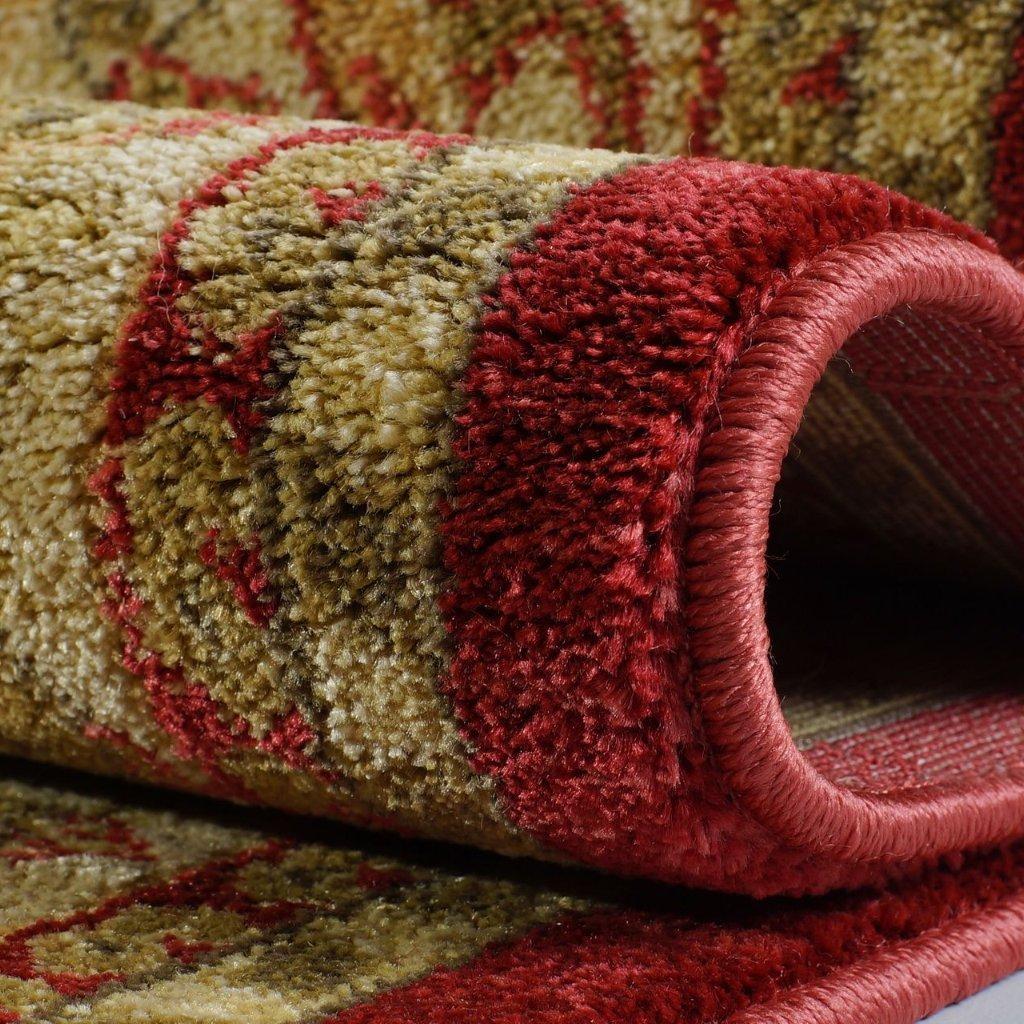 "Ladole Rugs Traditional Persian Design Runner Area Rug Carpet Cream Red(2'7"" x 9'10"", 80cm x 300cm) - image 2 of 4"