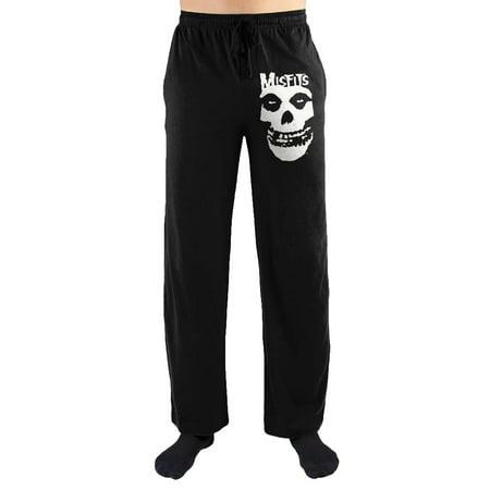 Skulls Lounge Pants (The Misfits Skull Print Men's Loungewear Lounge Pants X-Large )