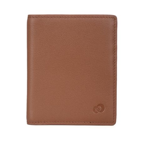 Multi Card Slim Bifold Genuine Leather Men Travel Wallet Pocket Holder, Best Mens Wallets for Cash, ID, Credit (The Best Cash Back Credit Card)