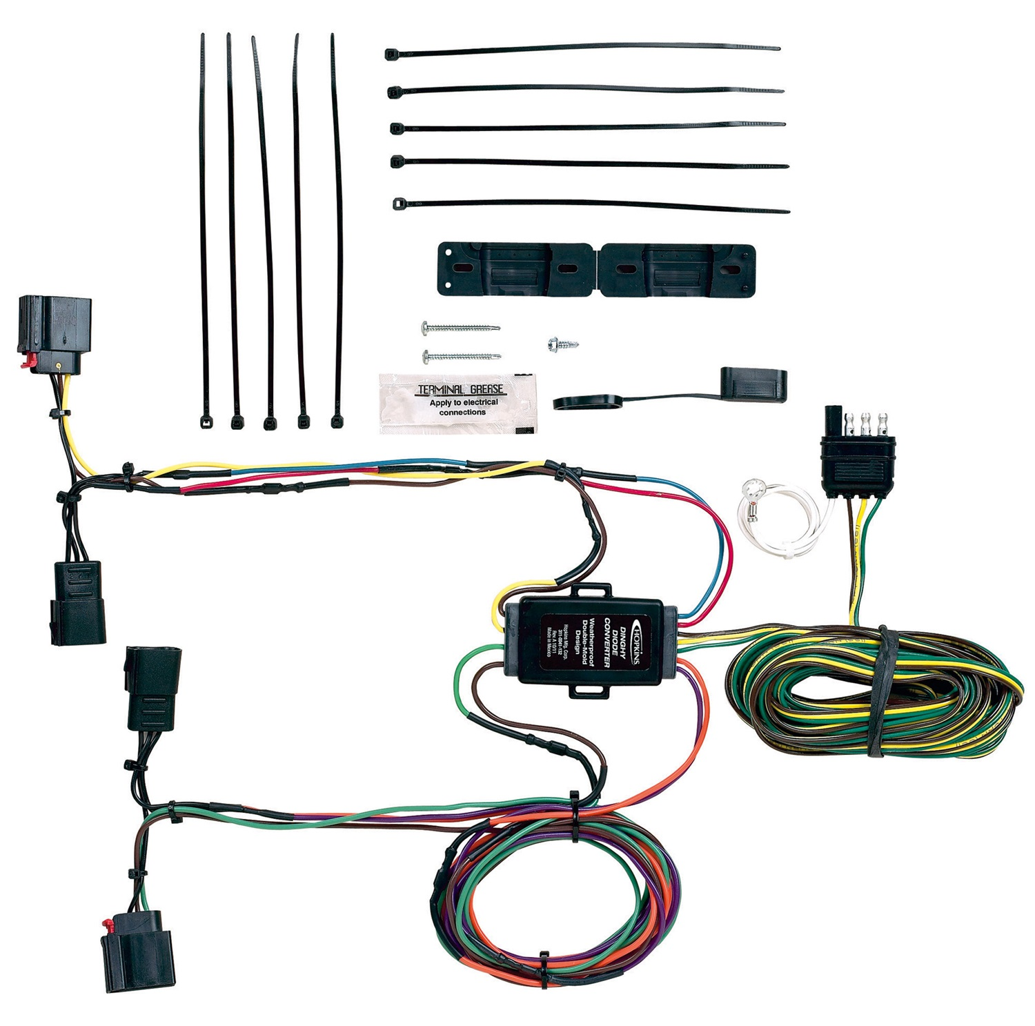 Hopkins Towing Solution 56207 Plug-In Simple Towed Vehicle Wiring Kit