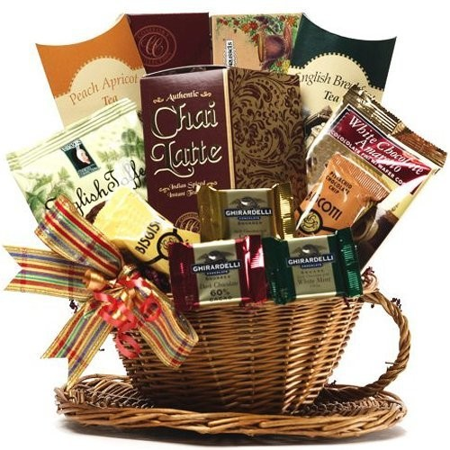 Art of Appreciation Gift Baskets You're My Cup of Tea and Treats Gift Basket []