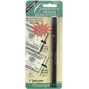 Dri-Mark Smart Money Counterfeit Bill Detector Pen for Use w/U.S. Currency -DRI351B1