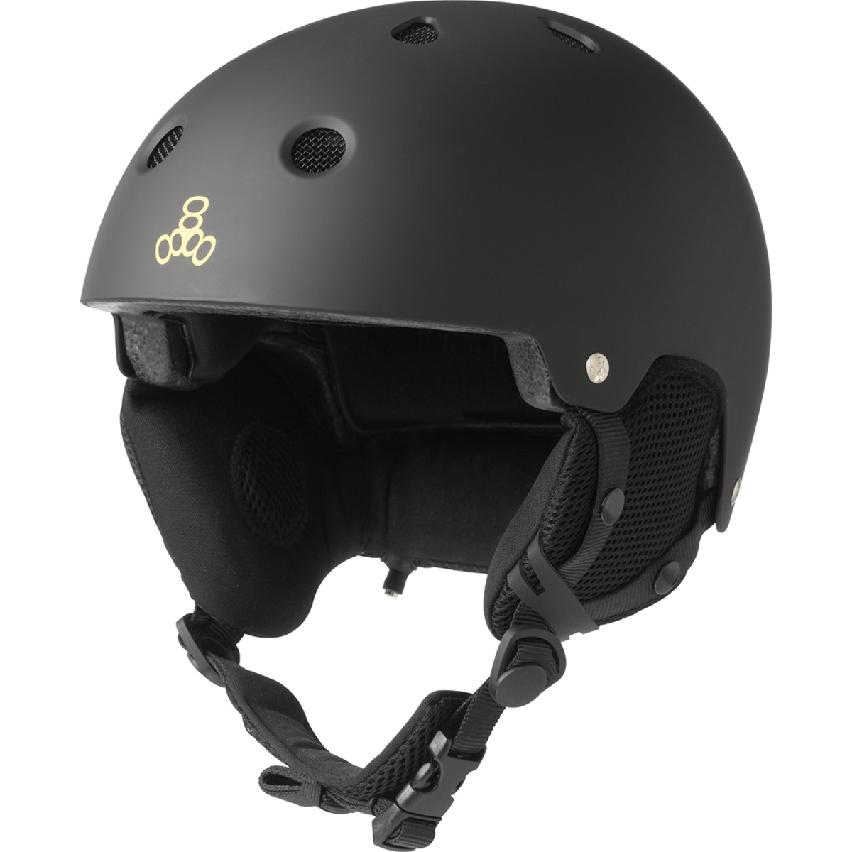 Triple Eight Snow Helmet with Audio by Triple 8