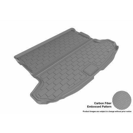 3D Maxpider 2017 2017 Kia Sportage All Weather Cargo Liner In Gray With Carbon Fiber Look