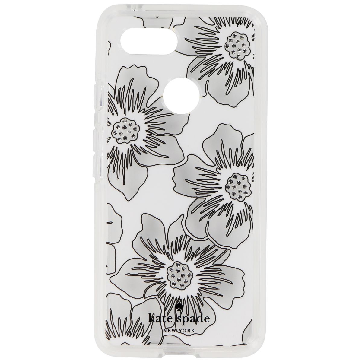 separation shoes ac5cd c1286 Kate Spade Defensive Hardshell Case for Google Pixel 3 - Reverse  Hollyhock/Cream