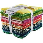 "FreeSpirit Fabrics FBFQHBTC True Colors-Heather Bailey 18""X21"" Fat Quarters - 20pcs"