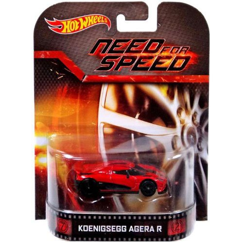 "Koenigsegg Agera R ""Need For Speed"" Hot Wheels 2014 Retro Series 1:64 Scale Collectible Die Cast Metal Toy Car Model"