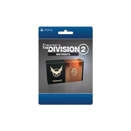 Tom Clancy's The Division 2 – 500 Premium Credits Pack, Ubisoft, Playstation, [Digital