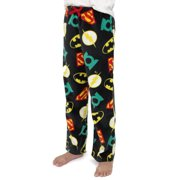 Justice League Boys Plush Fleece Lounge Pajama Pants 21JL078BPT