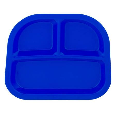 Divided Dish Tag - Arrow Blue Juvenile Divided Tray