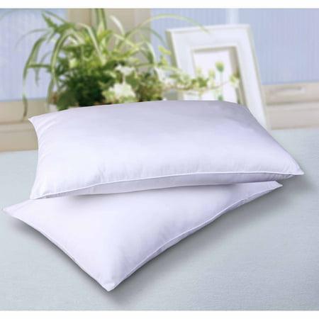 Cottonloft All Natural Cotton Filled Bed Pillow 2 Pack