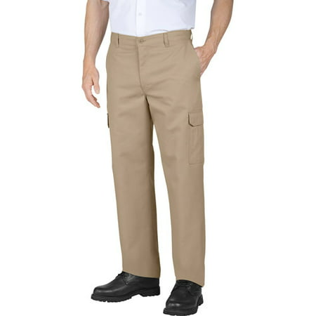 Genuine Dickies Men's Relaxed Fit Flat Front Cargo Pants