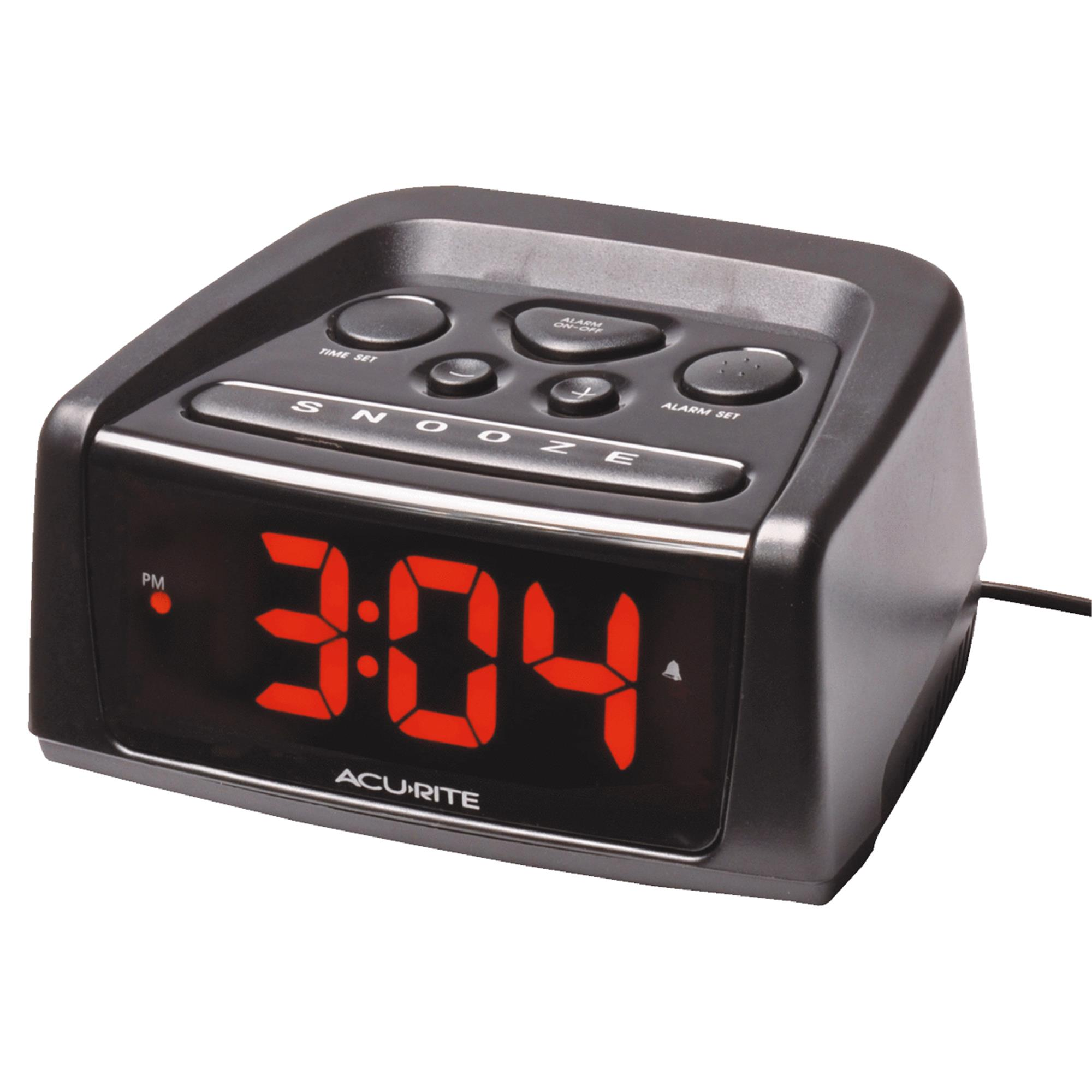 AcuRite Big and Loud Electric IntelliTime Alarm Clock by Generic