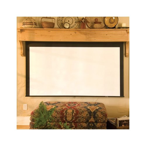 Draper Silhouette Series M Matt White Electric Projection...