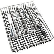 Kitchen Details Chrome Cutlery Tray - Black (14.17 x 10.24 x 2.17 Inch)