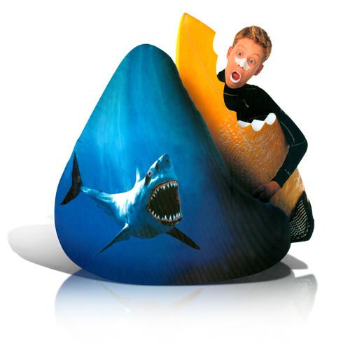 Image of AFA, INC Adult Beanbag Print Shark