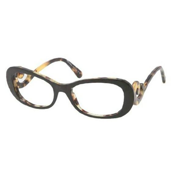 ed94715d191a Prada Glasses 09PV 2AU101 Tortoise 09Pv gdFR Eyeglasses 52mm - Walmart.com