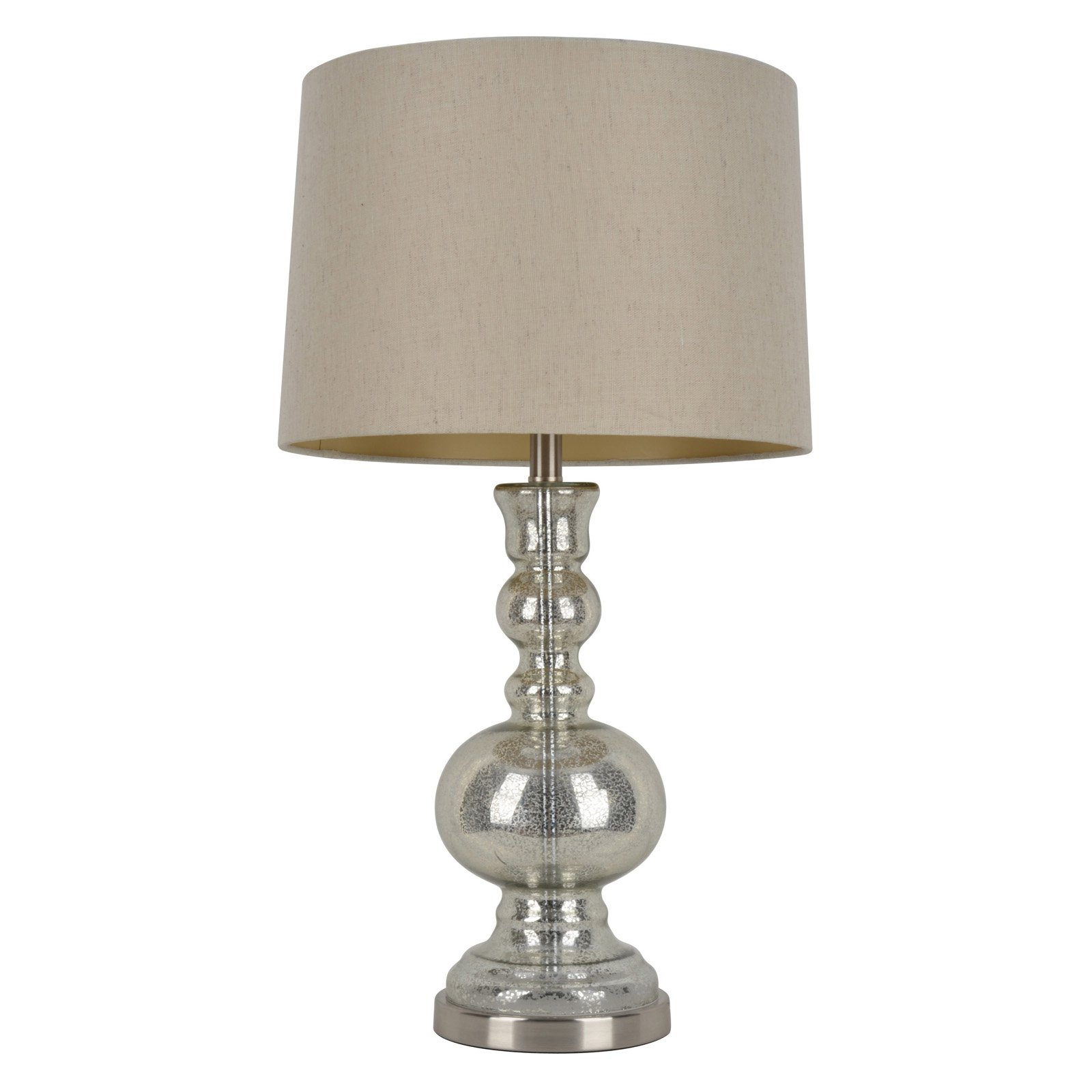 Decor Therapy Silver Mercury Glass Table Lamp by Jimco Lamp & Manufacturing