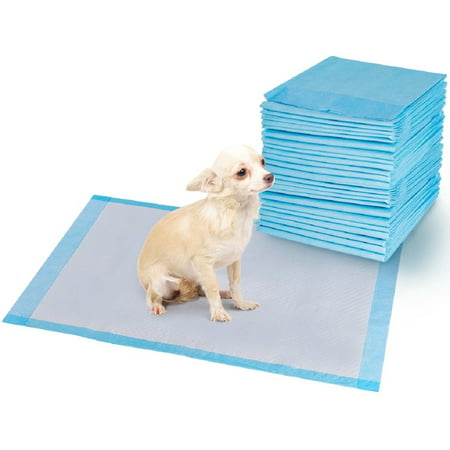 - Costway 150 PCS Puppy Pet Pads Dog Cat Wee Pee Piddle Pad Training Underpads (24'' x 36'')