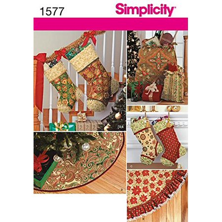 Simplicity Creative Patterns 1577 Holiday Decor By Simplicity Creative Inc Patterns Ship from US - Walmart.com