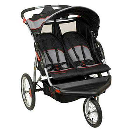 Baby Trend Expedition Swivel Double Jogger Baby Jogging Stroller -