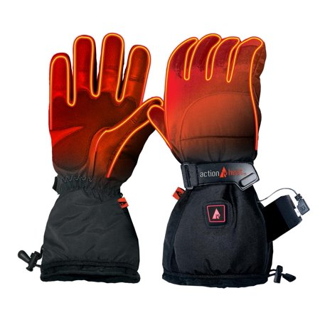 ActionHeat 5V Battery Heated Snow Gloves - Women's (Heated Glove Liners)