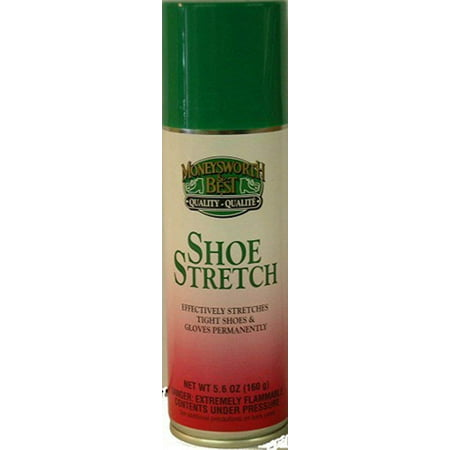 Moneysworth & Best Shoe Stretch - 5.6 Ounces, Professional spray for helping out in those tight squeezes By Moneysworth