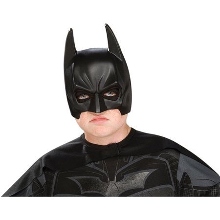 Batman Adult Dark Knight Chinless Half Costume Mask (Medieval Knight Mask)