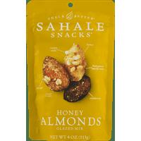 Sahale Snacks Glazed Nuts Almonds With Cranberries, Honey + Sea Salt, 4 Ounce Pouches