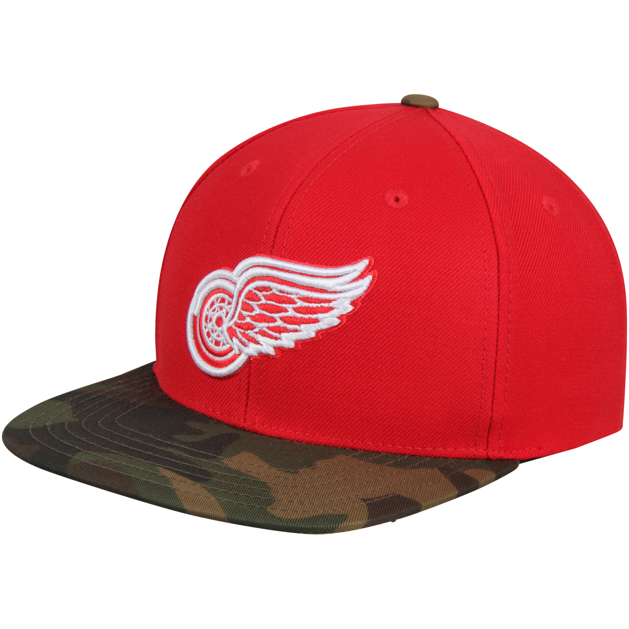 Detroit Red Wings American Needle Sundown Snapback Adjustable Hat - Red - OSFA